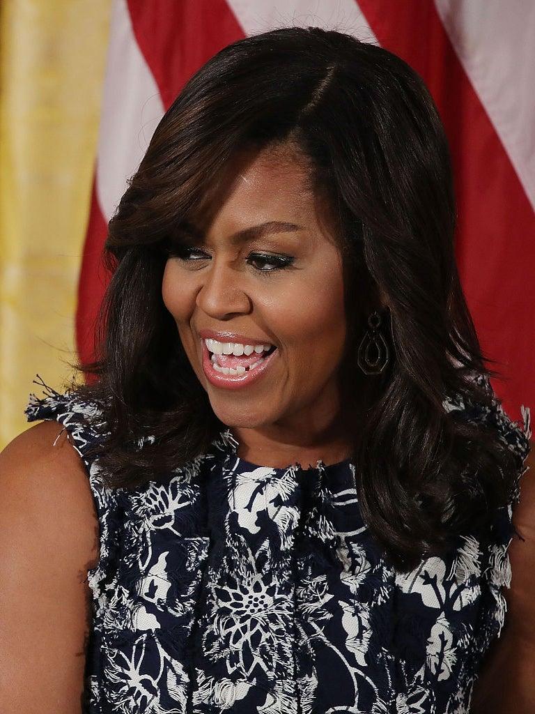 Michelle Obama Surprises Howard University Students