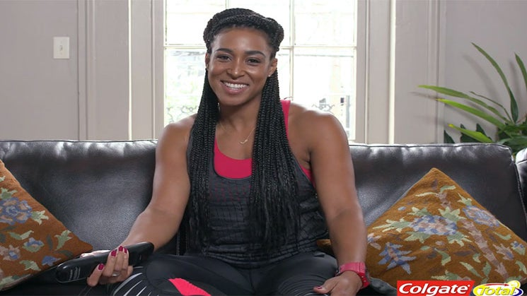 SPONSORED: Check Out Fitness Expert Lita Lewis' 3 Signature Moves To Amp Up Your Downtime