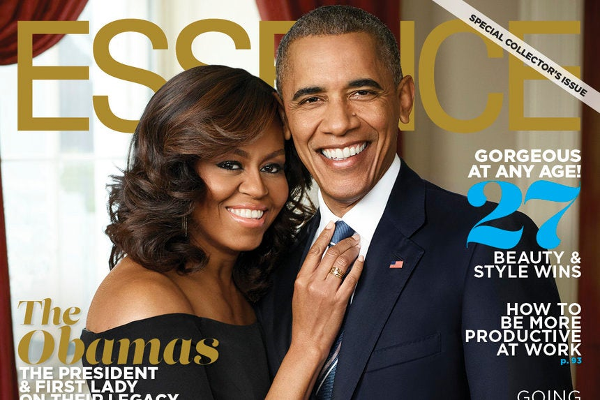 President Obama and Michelle Cover ESSENCE October Issue ...