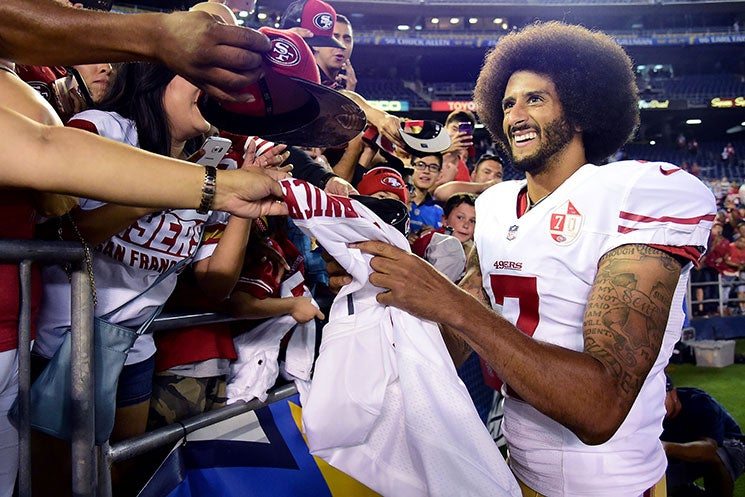 Why Colin Kaepernick's Glorious Afro Is Significant