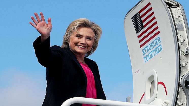 Here's Where Hillary Clinton Stands In The Polls Just 2 Months Before Election Day