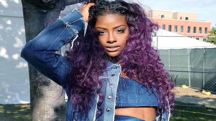 This Is Justine Skye's Secret Weapon For Damage-Free, Colored Hair