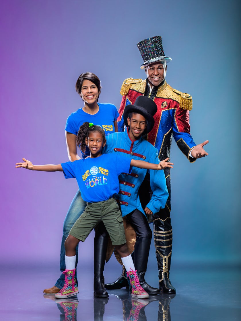 Lions and Tigers and Bears, Oh My! What It's Like to Be Ringling Bros. First Black Ringmaster