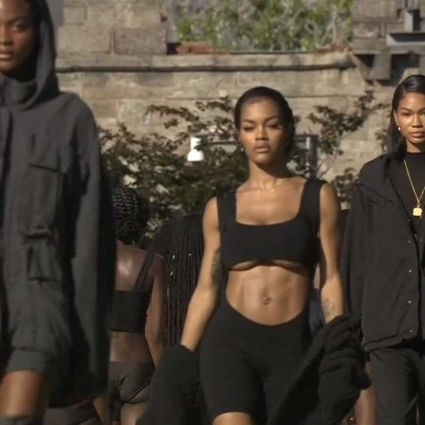 Teyana Taylor Stomped Her Way Through the Yeezy Season 4 Fashion Show and Obviously Slayed