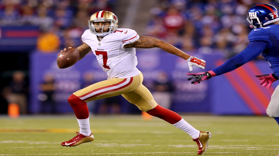 Colin Kaepernick To DonateMoney From Jersey Sales To Charity