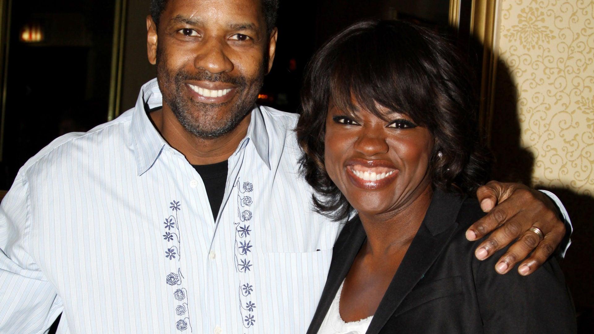 Viola Davis & Denzel Washington Stun In First Look Of 'Fences'