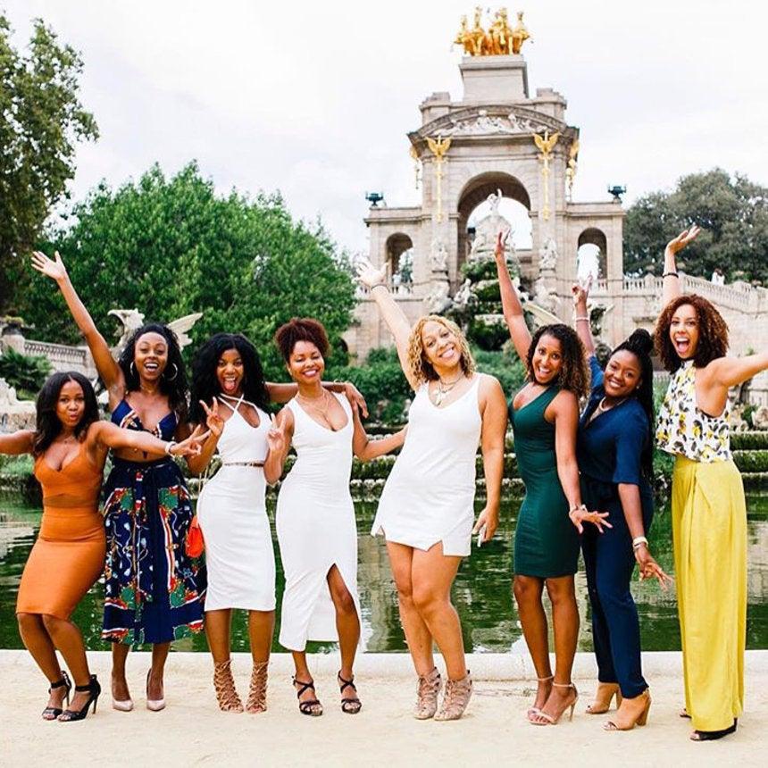 The 15 Best Black Travel Photos You Missed This Week: Girlfriend Getaways in Spain