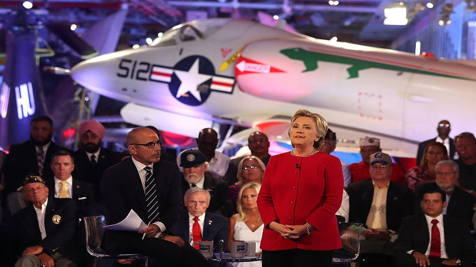 How Hillary Clinton's Campaign Used Botched Lauer Interview To Blast Donald Trump
