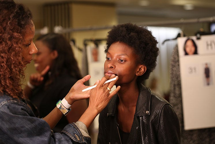This NYFW Backstage Beauty Hack Takes Less Than One Minute