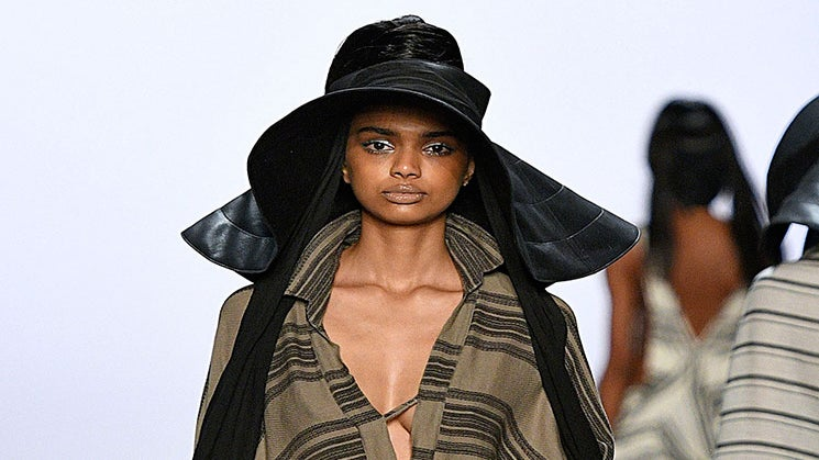 Designer Nicholas K Kicked Off NYFW With These Fierce, Flowing Looks