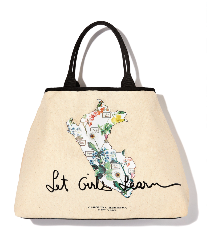 InStyle Releases Limited Edition Designer Tote Bag to Benefit Let Girls Learn