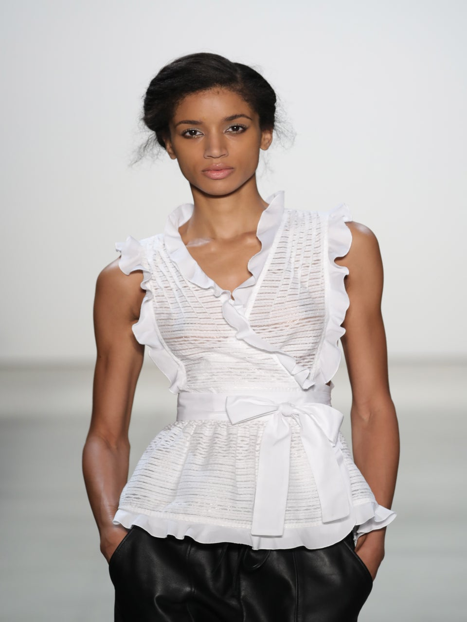 Marissa Webb's NYFW Show Teaches Us How To Master Simple Beauty