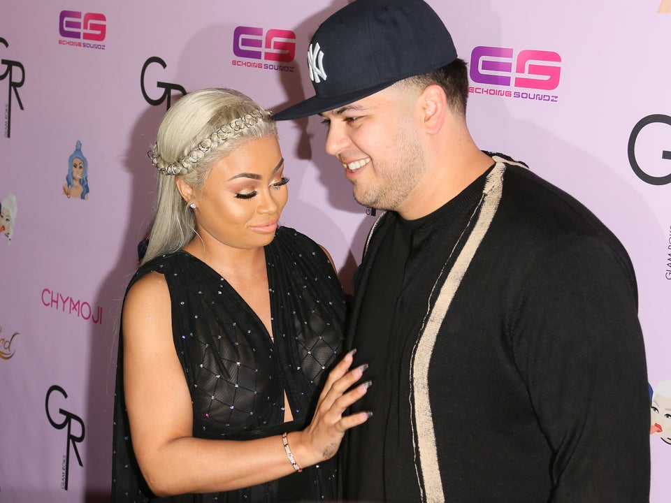 What Blac Chyna Says Happened Between Her and Tyga that Won't With Rob Kardashian