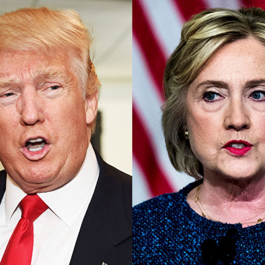 Here's Where Donald Trump and Hillary Clinton Stand on The Issues