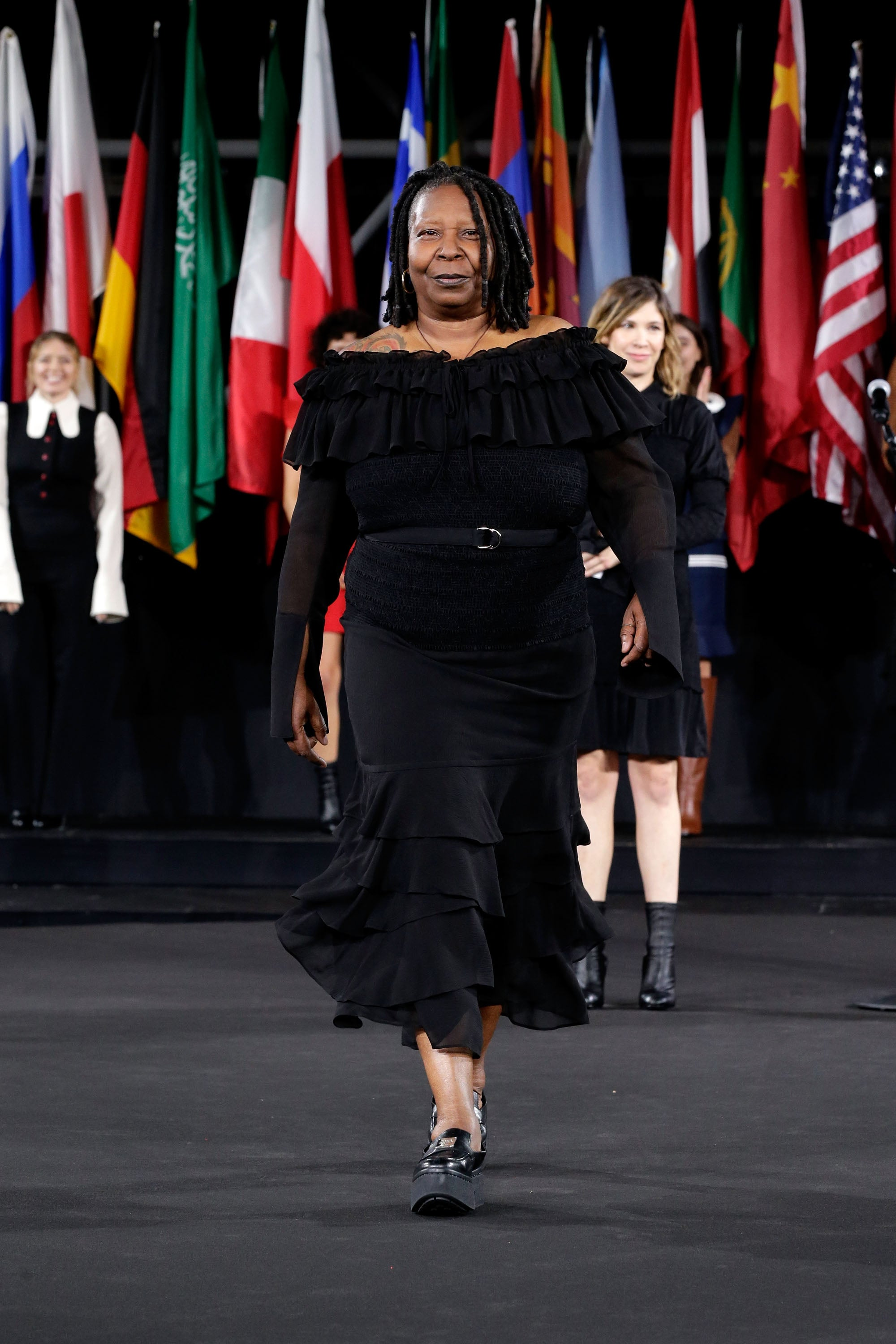 Whoopi Goldberg Walks in Opening Ceremony Show