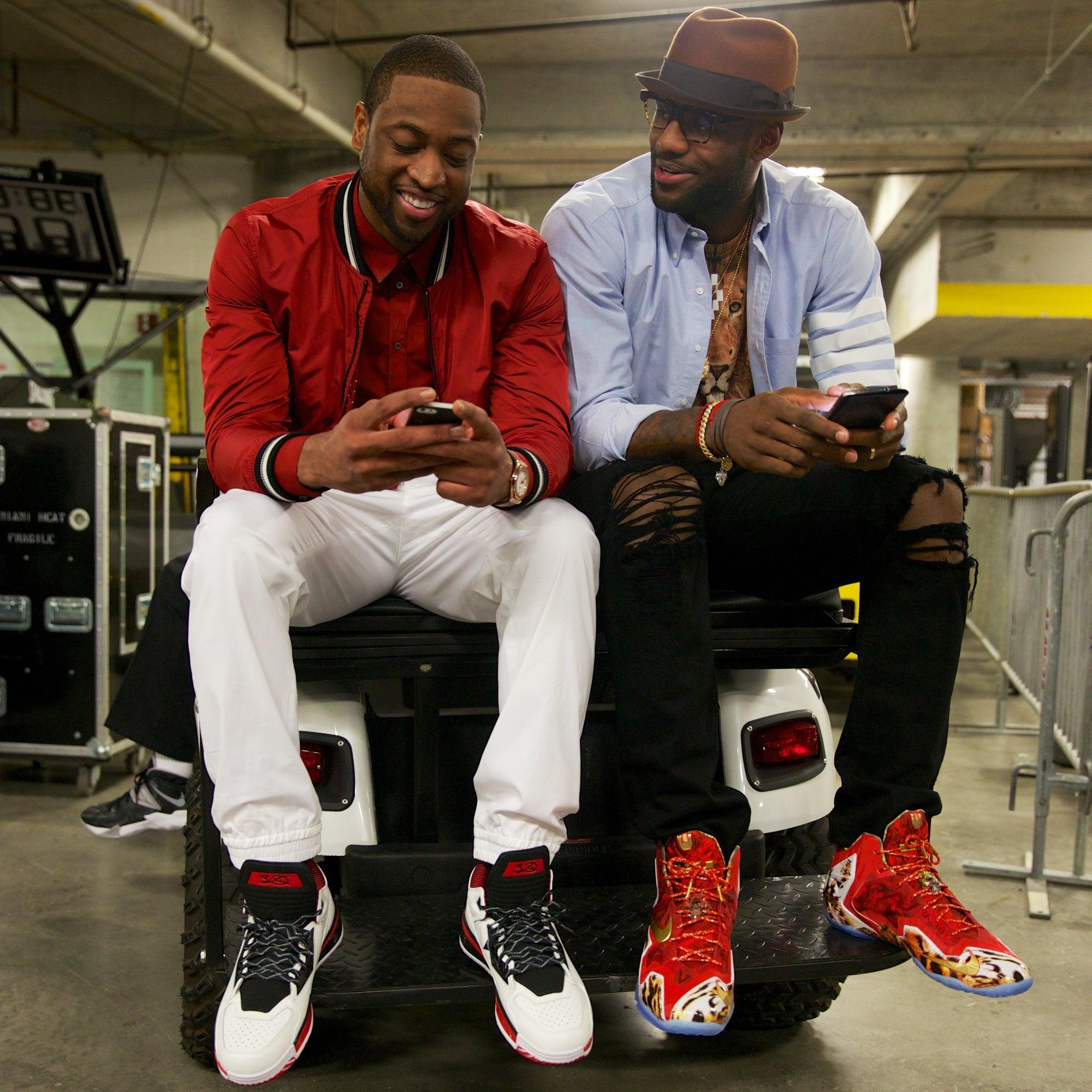 Dwyane Wade Lets LeBron James Order for Him at Restaurants: He 'JustKnows'