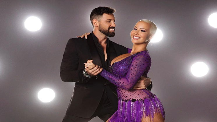 """Guess Who Came Out To Support Amber Rose In Her First 'Dancing With The Stars"""" Appearance?"""
