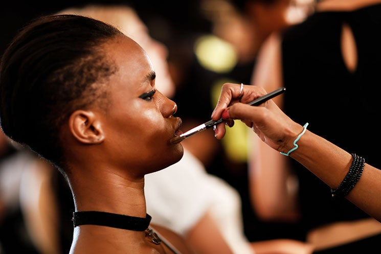 6 Amazing Skincare Products I Found While Snooping Around A MUA's Table At NYFW