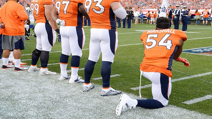 Brandon Marshall Keeps Losing Endorsements, But It Won't Stop Him From Protesting