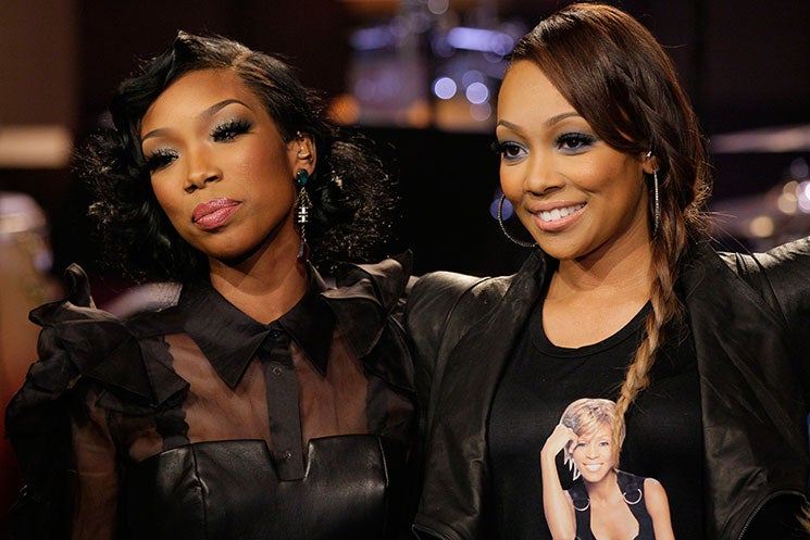 Coincidence Or Shots Fired? Brandy Posts Whitney Houston Photo After Monica Calls The Late Icon Her 'Fairy Godmother'