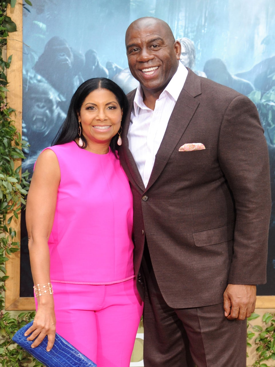 Magic Johnson Credits Wife with Helping Him Get Through HIV Diagnosis: 'If Cookie Had Left, I'd Probably Be Dead Now'