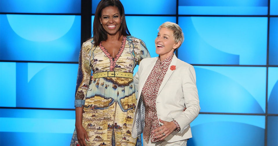 """First Lady Michelle Obama Celebrates Her Daughters On Ellen – """"They're Smart, Poised, Intelligent Young Women"""""""