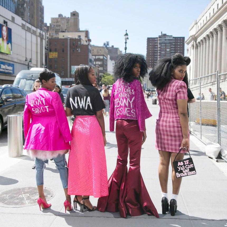Black Girls Killing It at New York Fashion Week