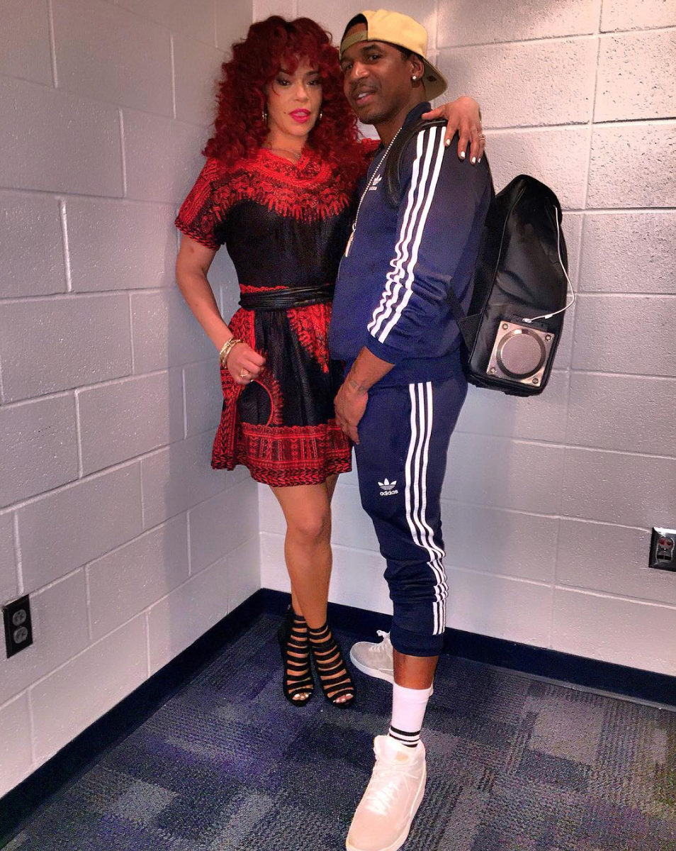 It's Official: Faith Evans And Stevie J Are A Couple