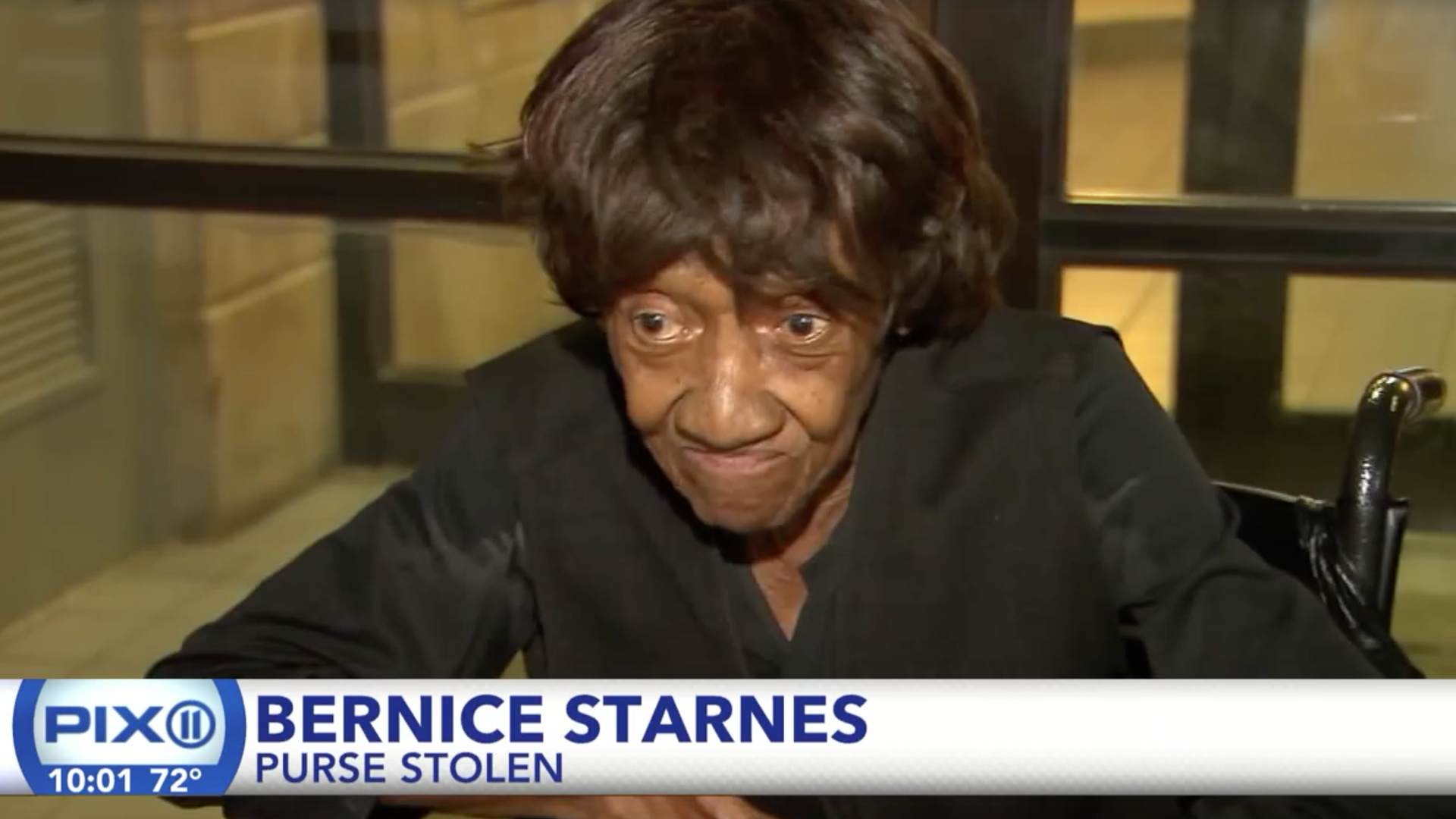 86-Year-Old Woman Did Not Come To Play, Claps Back At Thief Who Stole Her Purse