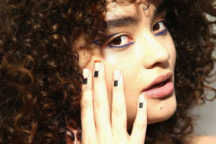 At NYFW, Nail Art Got A Surprising New Twist
