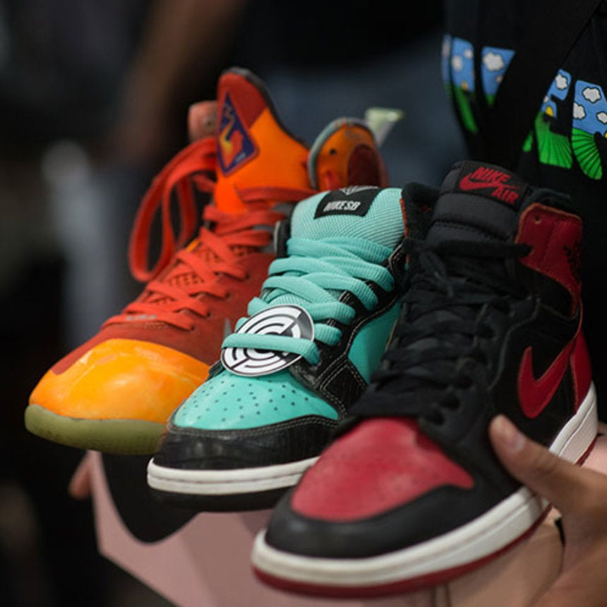 Ladies Laced Up At The National Sneaker Convention
