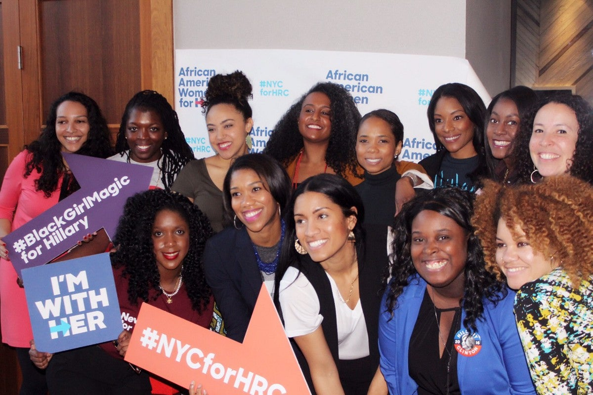 Polling Results Estimate 94 Percent Of Black Women Voters Chose Hillary Clinton