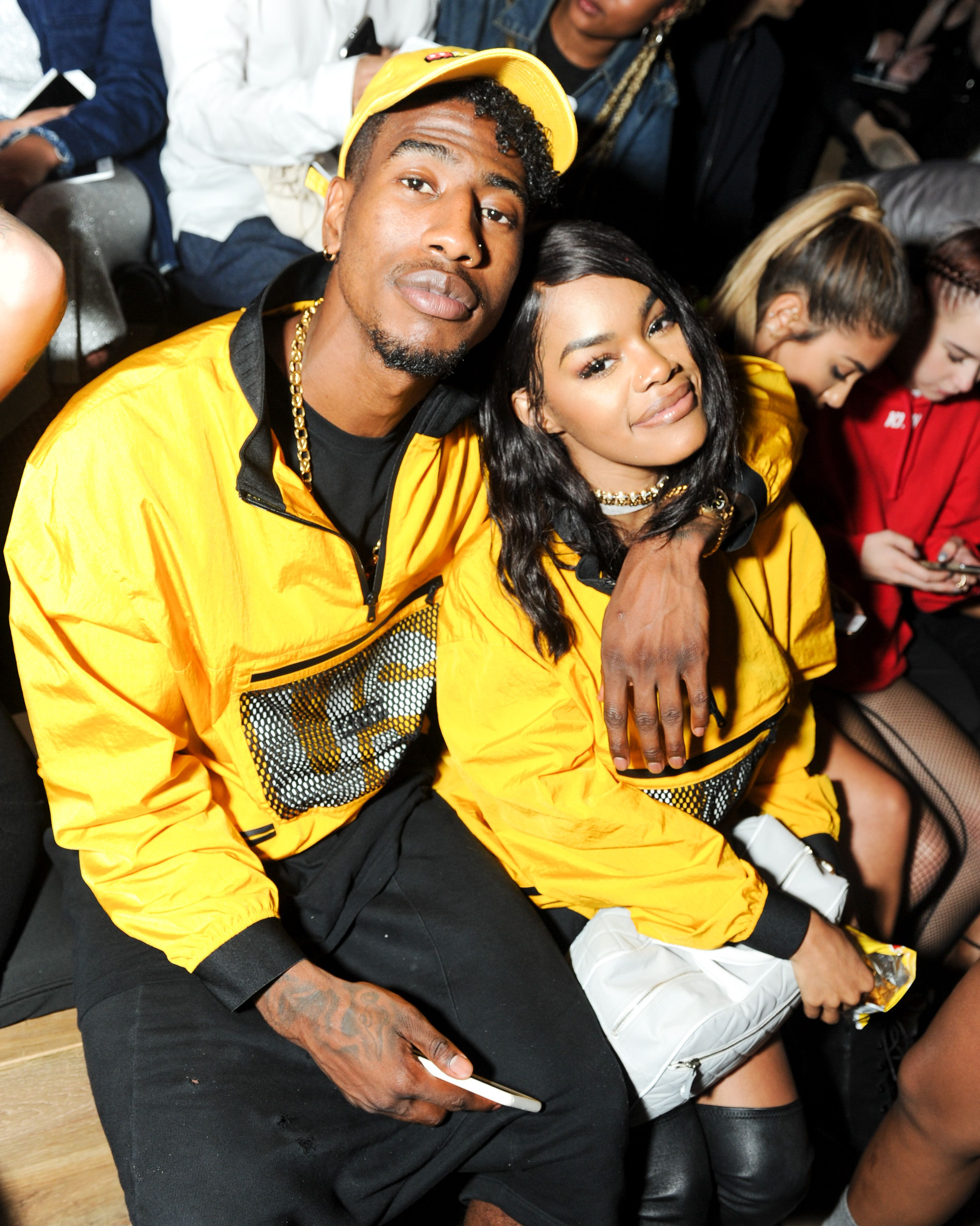 11 Times Teyana Taylor and Iman Shumpert Were the Cutest Couple at NYFW 2016