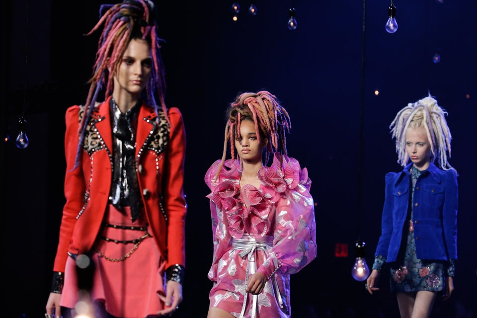Marc Jacobs' Spring 2017 Models Walk The Runway In Faux Locs