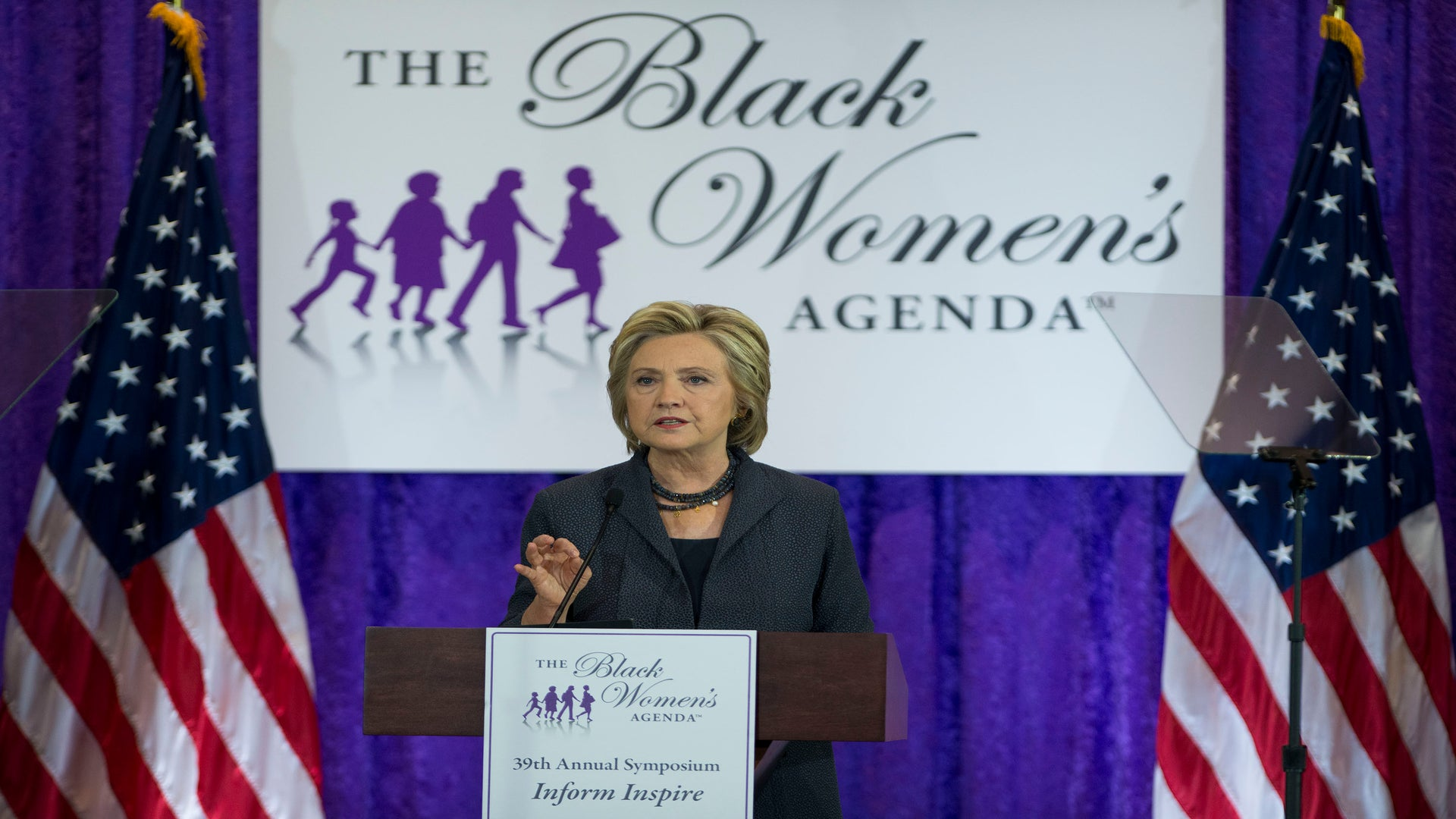 """Hillary Clinton: """"I Would Not Be The Democratic Presidential Nominee Without Black Women"""""""