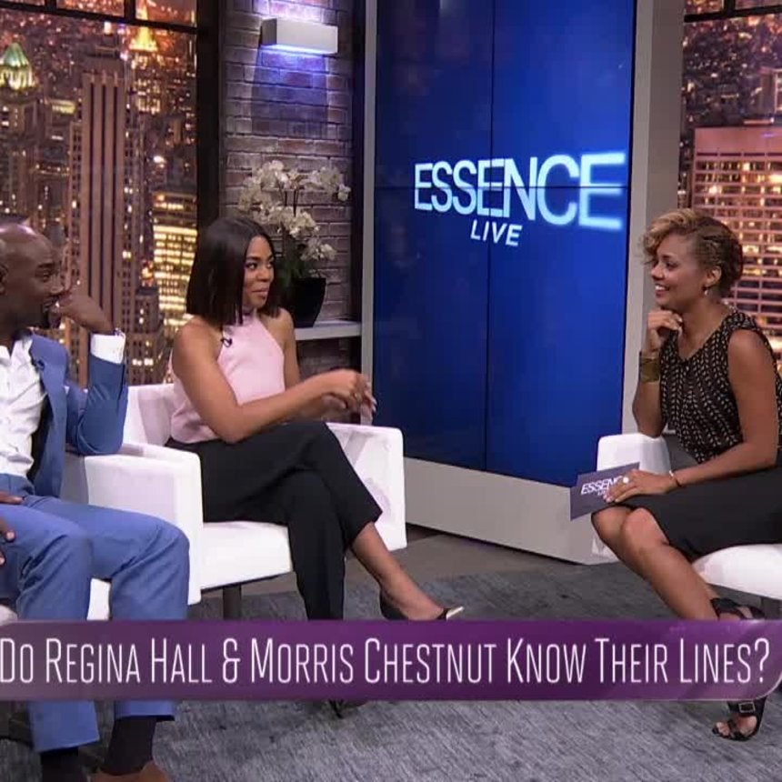 Can Regina Hall and Morris Chestnut Remember Their Throwback Movie Lines?