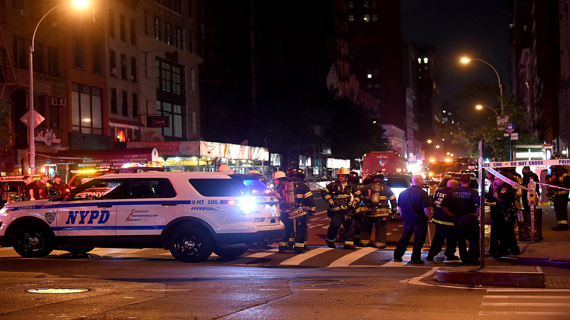 Explosion in New York Is Said to Injure at Least 25