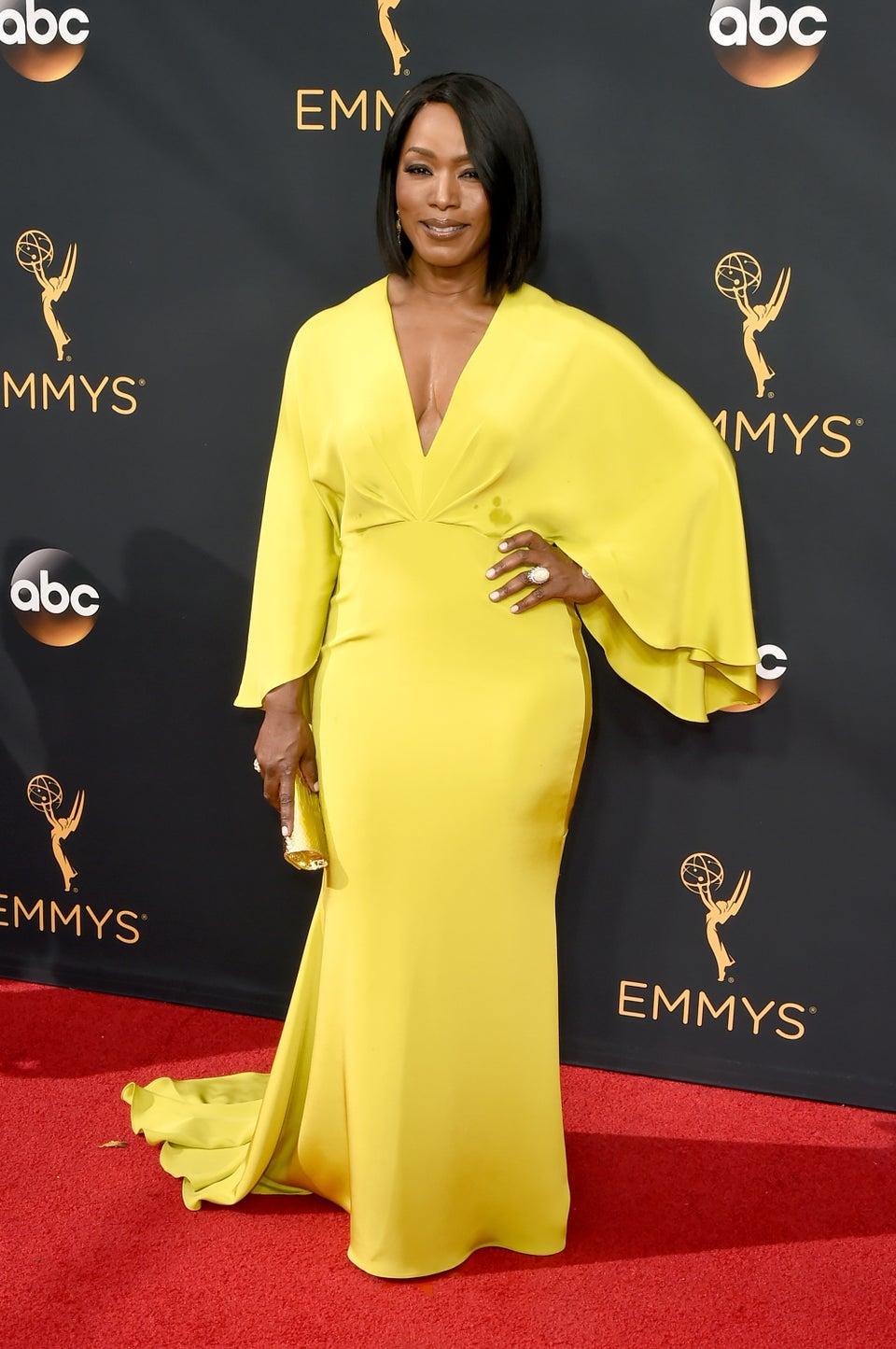 Is Angela Bassett Wearing Lane Bryant on the Emmys Red Carpet?