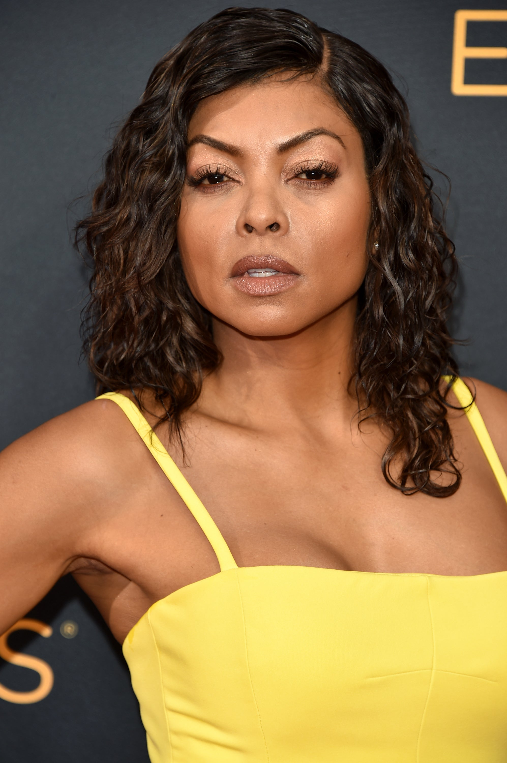 Taraji P. Henson Glitters in Gold Inside Cookie's Closet