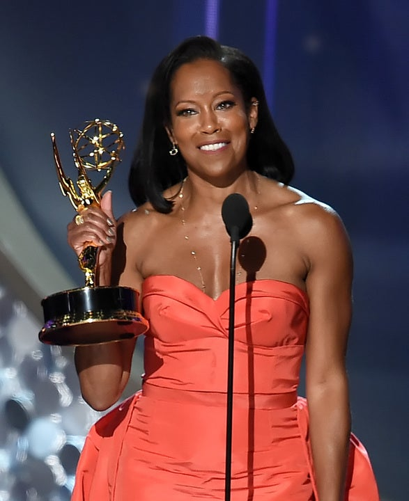 Yet Again, Taraji P. Henson Serves #BlackGirlMagic Cheering On Regina King's Emmy Win