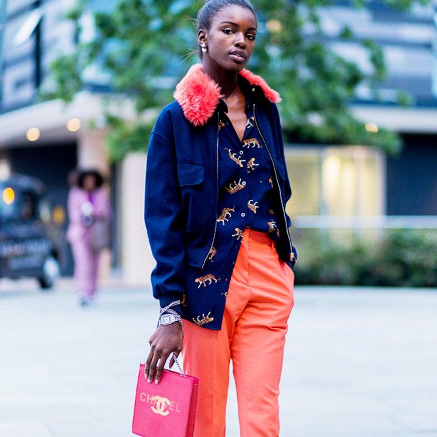 All The Beautiful Black Women Slaying Street Style at London Fashion Week