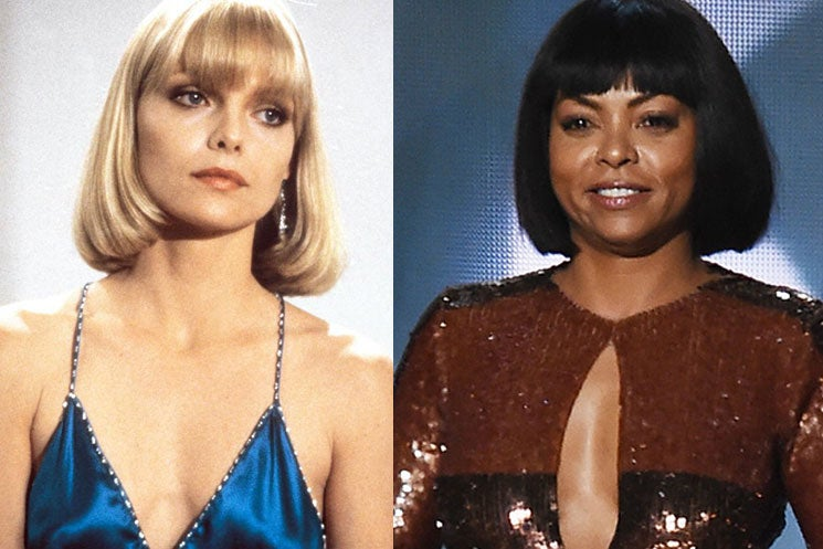 Taraji's Emmys Hairstyle Switch-Up Was Inspired By Scarface