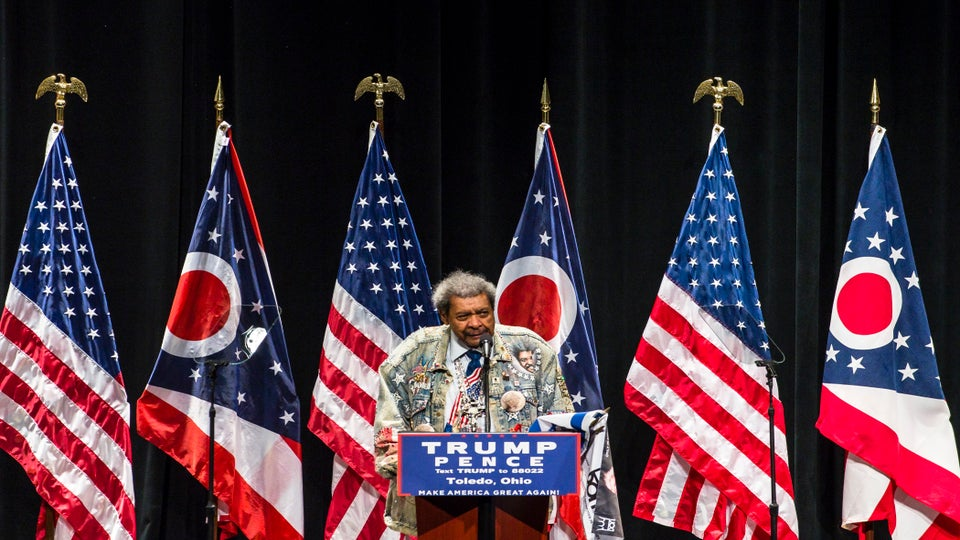 Boxing Promoter Don King Uses N-Word To Introduce Donald Trump During Church Visit