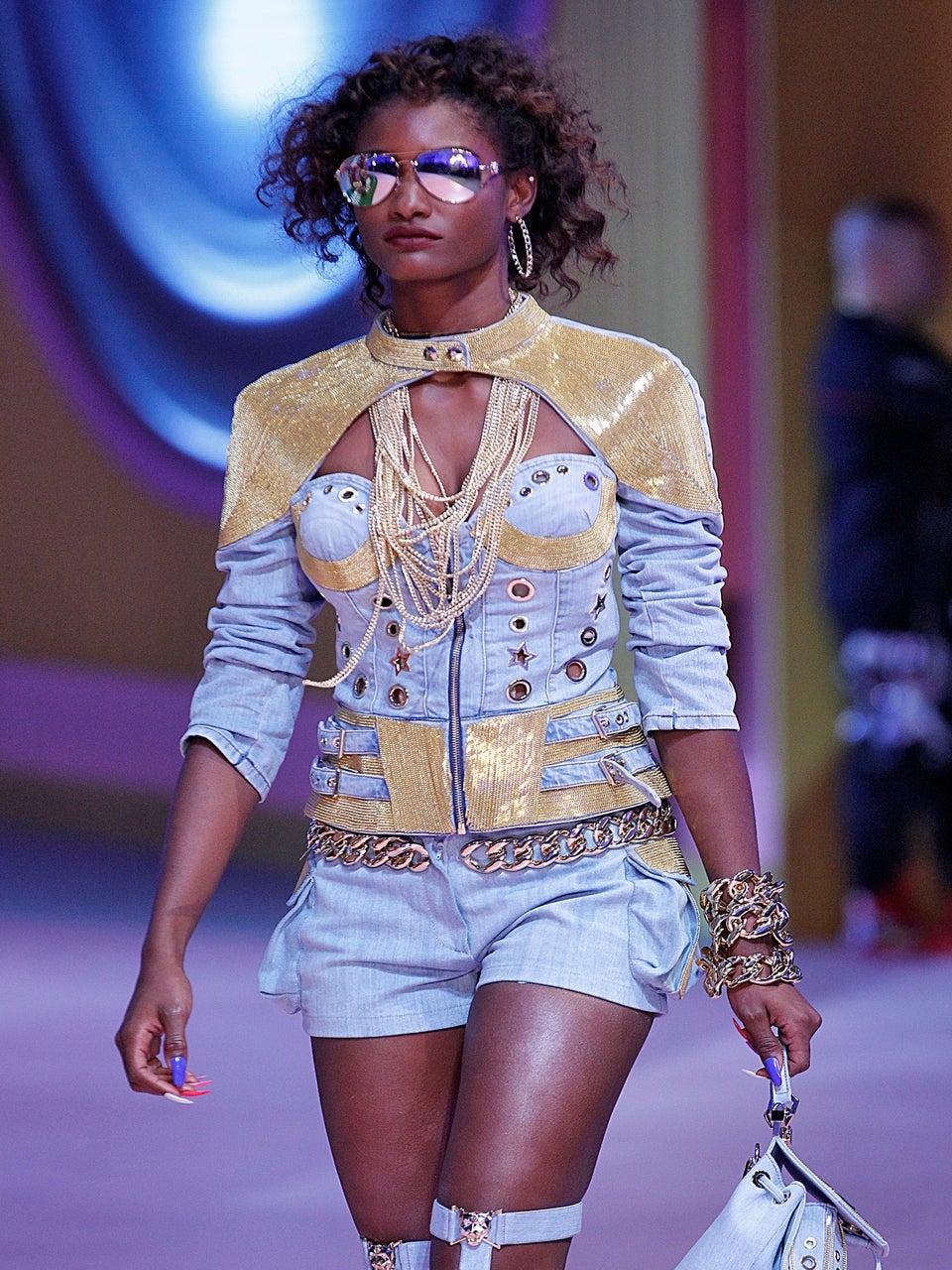 Philipp Plein Hit Milan Fashion Week With 'Alice in Ghettoland' Themed Show
