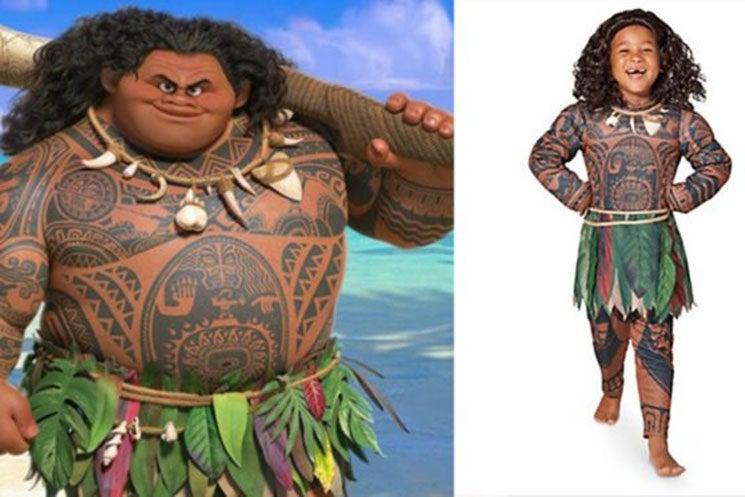Disney Under Fire For Racially Insensitive U0027Moanau0027 Halloween Costume