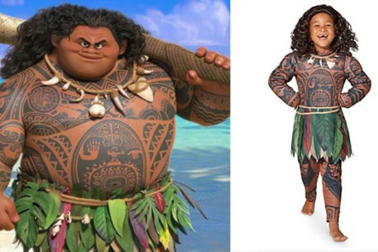 Disney Under Fire For Racially Insensitive 'Moana' Halloween Costume