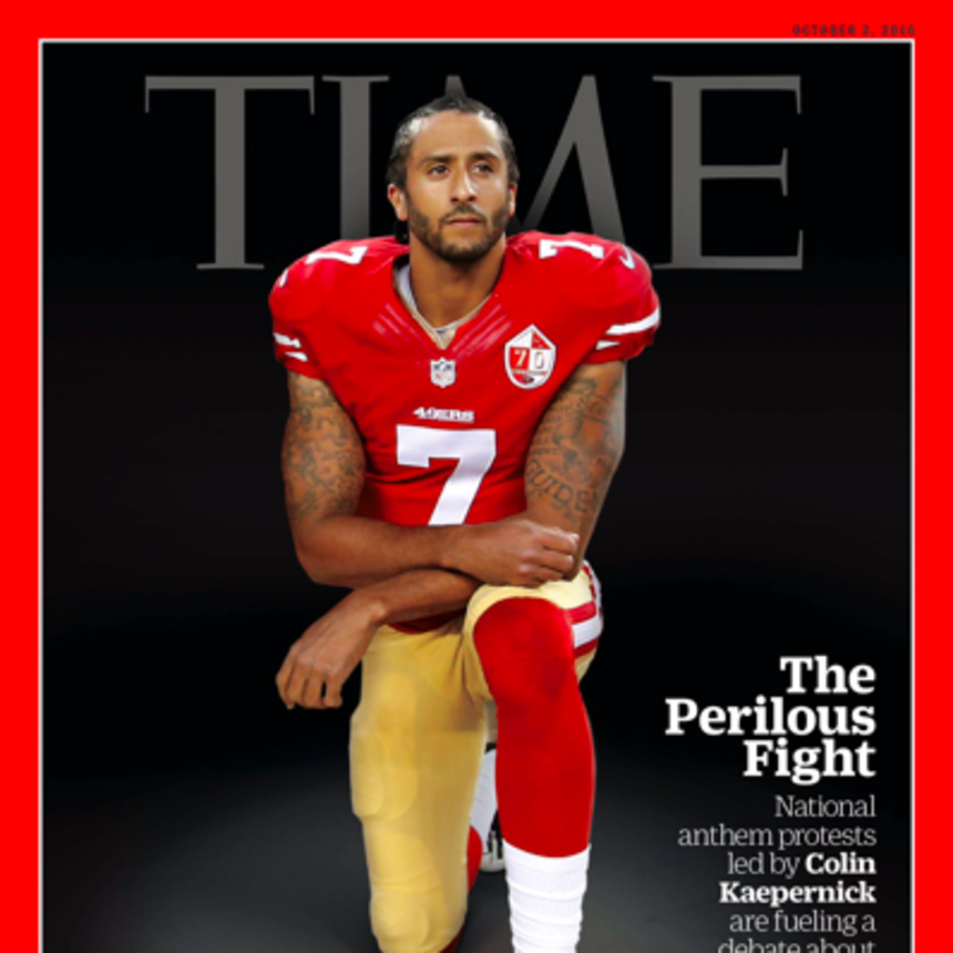 Colin Kaepernick Covers 'TIME' For His 'Perilous Fight'