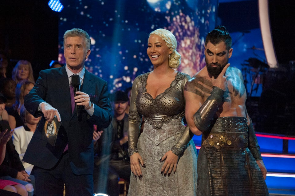 Guess How Much Weight Amber Rose Lost Since Joining 'DWTS?'