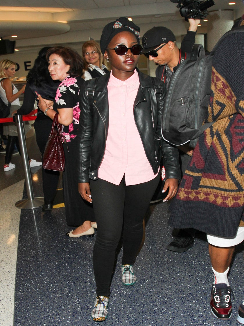 Lupita Nyong'o's Alter Ego TROUBLEMAKER Drops Fire Bars To Celebrate 3 Million Instagram Followers