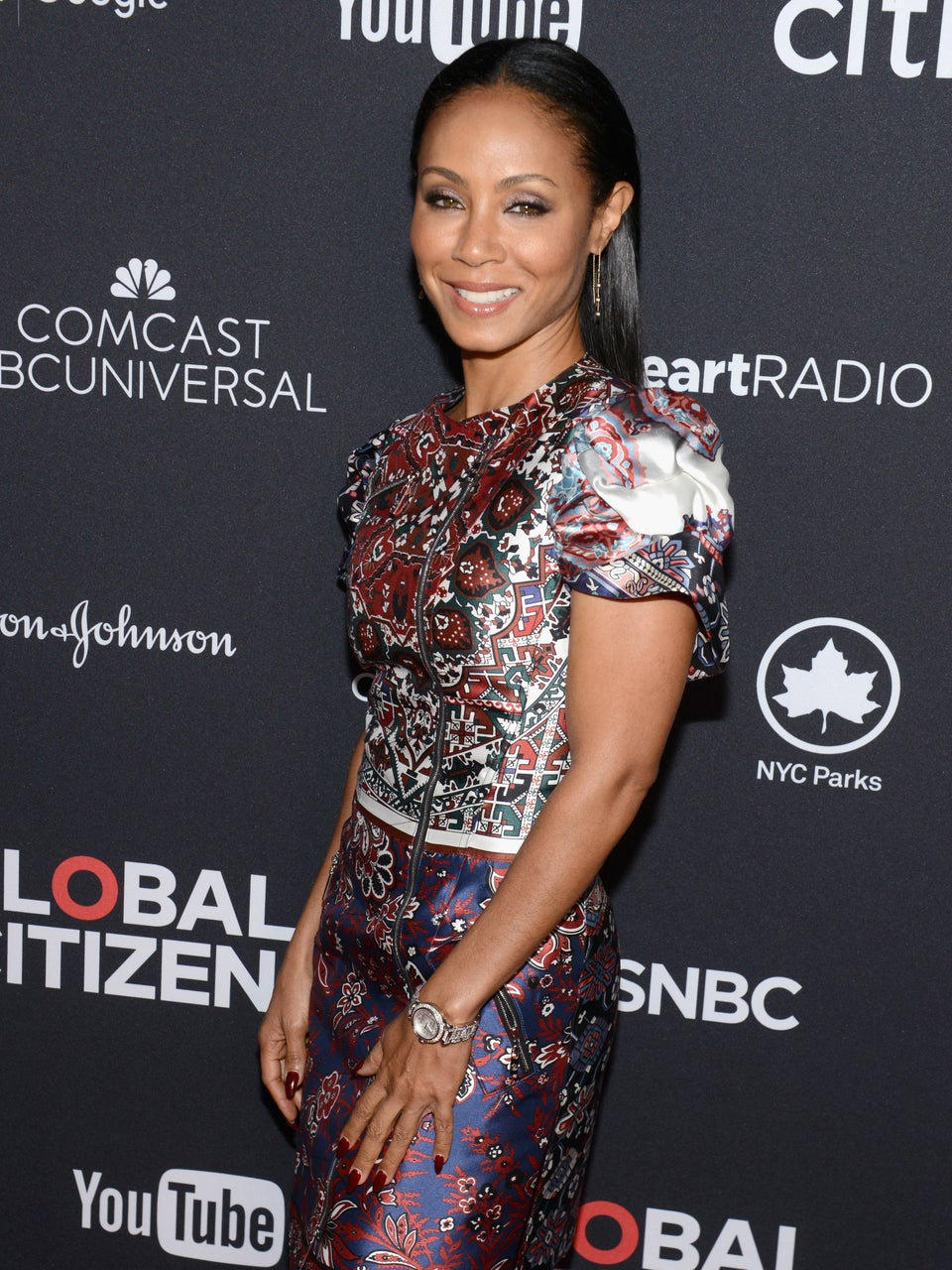 Look of the Day: Jada Pinkett Smith Hits Global Citizen Festival in Stunning Printed Dress